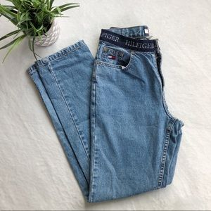 Vintage Tommy Hilfiger Spellout High Rise Jeans